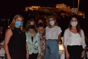 Το ΙCC WOMEN HELLAS «Ταξίδεψε» Αμερική Καναδά Βρυξέλλες & Παρίσι στέλνοντας εικόνα από την φωτισμένη Ακρόπολη