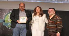 Βράβευση του Δήμου Βύρωνα για το Πρωτάθλημα Ανακύκλωσης