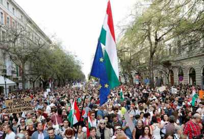 AEJ protests against the ruination of Hungary's Index news portal