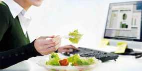 Ισορροπημένη διατροφή και στη δουλειά
