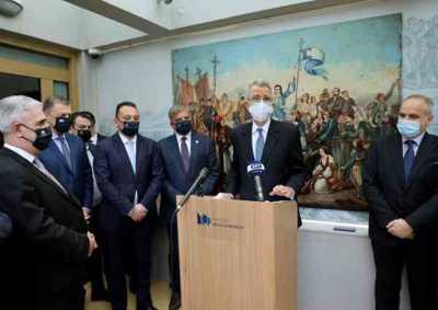 Τα εγκαίνια της έκθεσης για τον Αμερικανικό Φιλελληνισμό  αναδεικνύουν την διεθνή διάσταση της Ελληνικής Επανάστασης