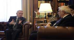 Το Κυπριακό στη συνάντηση Παυλόπουλου-Γάλλου ΥΠΕΞ