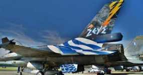 Θεσσαλονίκη: Εντυπωσιακές εικόνες από τη δοκιμαστική πτήση της ομάδας «ΖΕΥΣ» για την παρέλασης της 28ης Οκτωβρίου